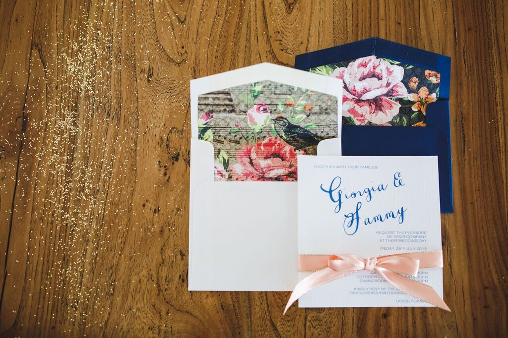 love notes wedding invitations