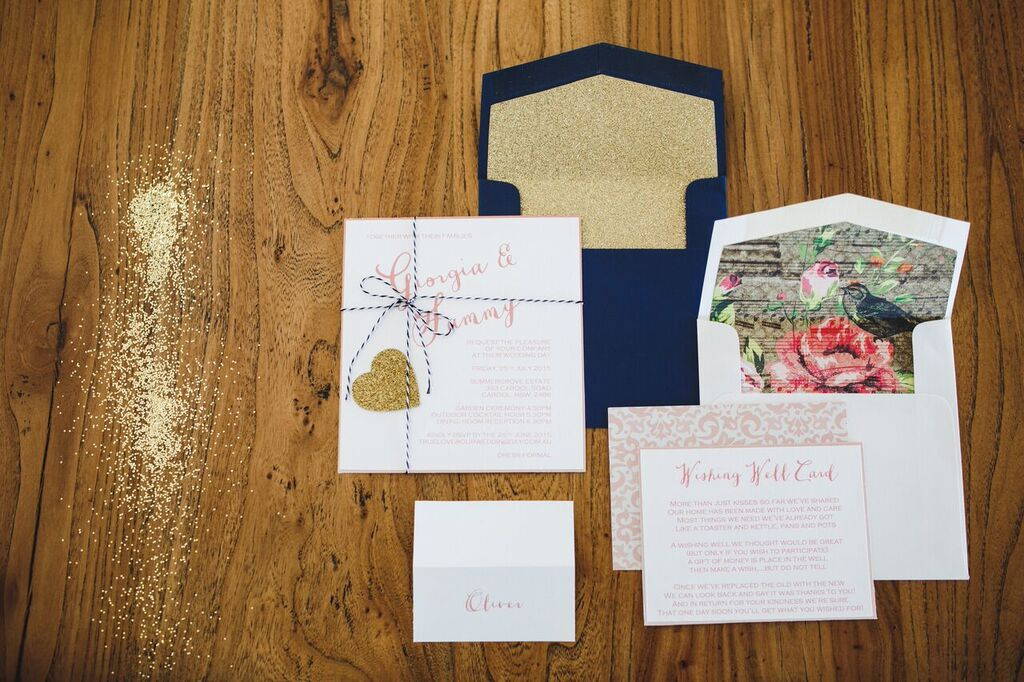 love notes wedding stationery