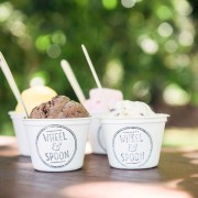 Wheel and spoon ice cream
